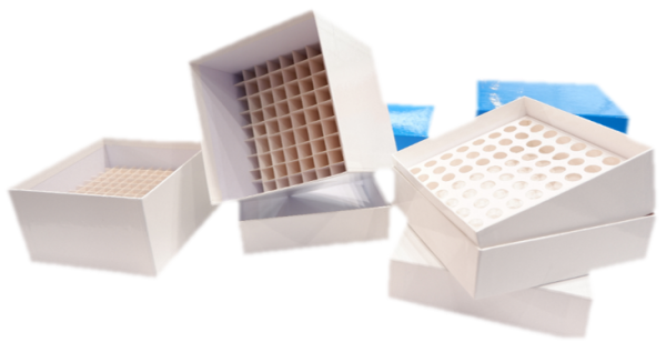 cardboard cryoboxes, cryovial boxes cardboard